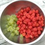 草イチゴと葡萄