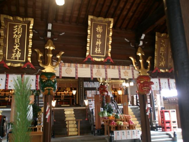 櫛田神社 御拝殿