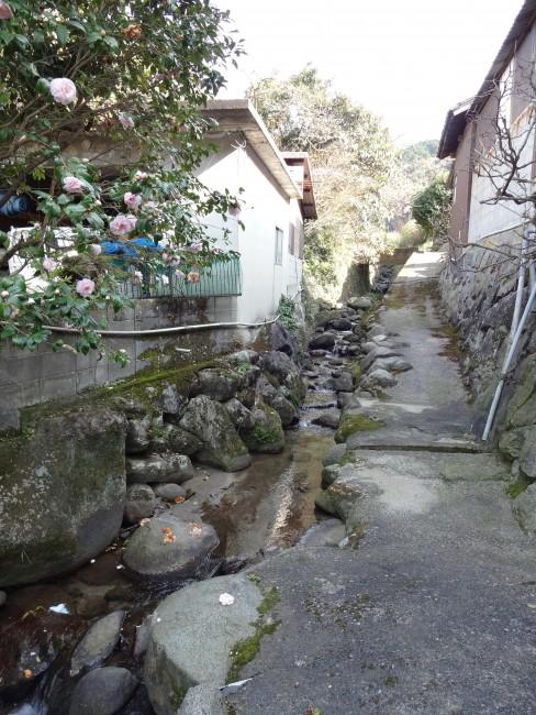 村落の水路