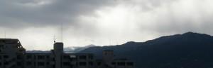 背振山 初冠雪
